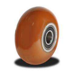100mm Round Profile, Easy move, Poly/Cast  wheel with 350Kg Capacity