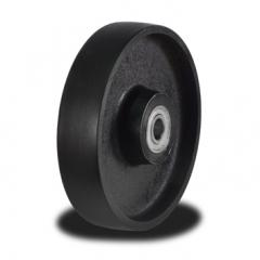 200mm Solid Cast Iron Wheel with 1100Kg Capacity