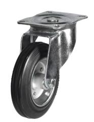 Swivel castor 200mm wheel diameter upto 205kg capacity