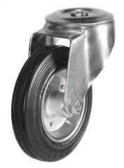 M12 Bolt Hole castor 200mm wheel diameter upto 205kg capacity
