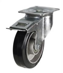 Braked castor 160mm wheel diameter upto 350kg capacity