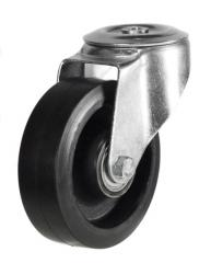 M12 Bolt Hole castor 150mm wheel diameter upto 350kg capacity