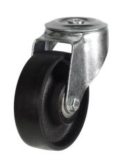 M12 Bolt Hole castor 125mm wheel diameter upto 270kg capacity