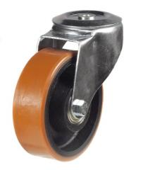 M12 Bolt Hole castor 100mm wheel diameter upto 200kg capacity