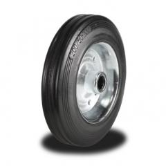80mm Wheel with Rubber on Steel Disk Centre 65Kg Capacity