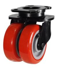 Swivel castor 200mm wheel diameter upto 860kg capacity