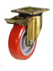 Braked castor 150mm wheel diameter upto 430kg capacity