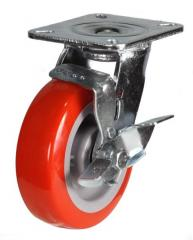Braked castor 100mm wheel diameter upto 320kg capacity