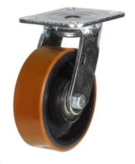Swivel castor 100mm wheel diameter upto 380kg capacity