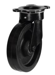 Swivel castor 200mm wheel diameter upto 500kg capacity