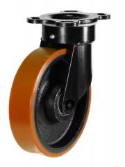 Swivel castor 250mm wheel diameter upto 1200kg capacity