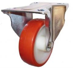 Fixed castor 80mm wheel diameter upto 150kg capacity
