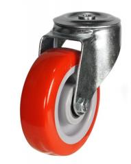 M12 Bolt Hole castor 200mm wheel diameter upto 350kg capacity